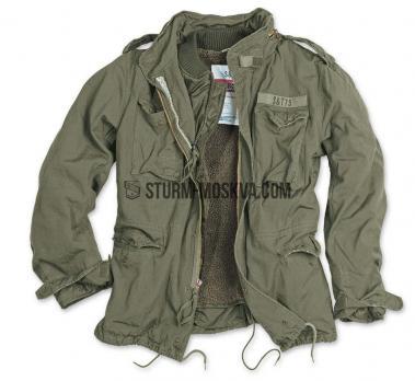 Куртка SURPLUS REGIMENT M65 олива