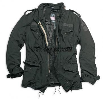 Куртка SURPLUS REGIMENT M65 черный