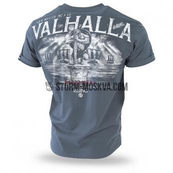 """Футболка """"VALHALLA""""  STEEL"""