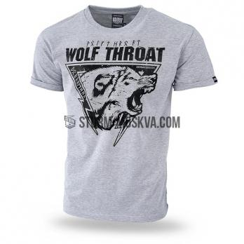 "Футболка ""WOLF THROAT III"" серая"