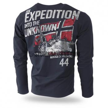 "LONG SLEEVE ""UNKNOWN EXPEDITION"" BLACK"
