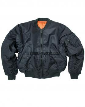 Куртка бомбер МА1 TEESAR® синяя