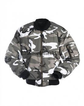 Текстильная куртка бомбер МА1 урбан