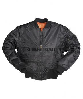 Куртка бомбер STYLE MA1 черная