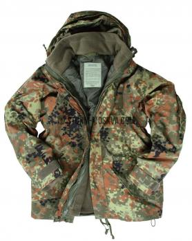 Куртка из мембраны с флисовой подстежкой флектарн