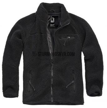 """Куртка флисовая """"Teddy"""" черная"""