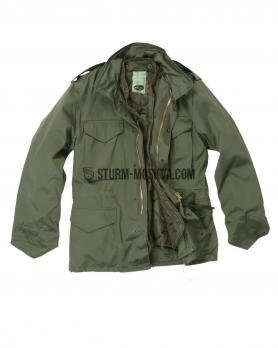Куртка М65 с подстежкой олива