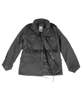 Куртка М65 с подстежкой черная